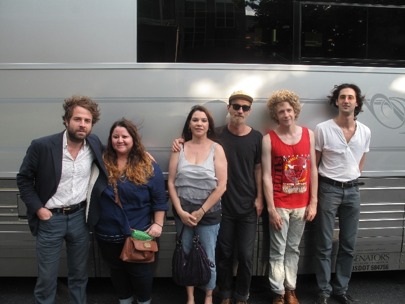 Dawes With Fans